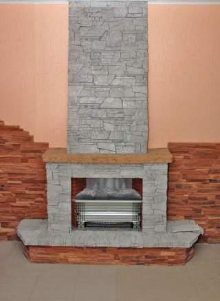 Производство искусственного декоративного камня на дому из гипса